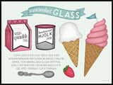 Poster: Super Simple ice cream, by Tovelisa