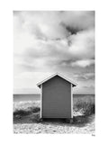 Poster: FALSTERBONÄSET - Beach Hut, by A chapter 5 - Caro-lines