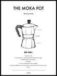 Poster: The Moka Pot, by Owl Streets
