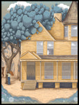 Poster: The yellow house, by Green Isle Studio