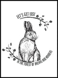 Poster: The Young Hare, by Green Isle Studio