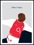 Poster: Thierry Henry, by Tim Hansson