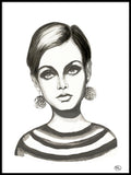 Poster: Twiggy, by Lindblom of Sweden