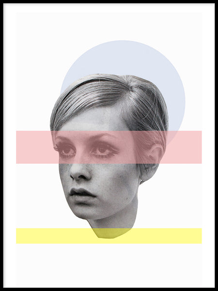 Poster: Twiggy, by Marievictoria Design