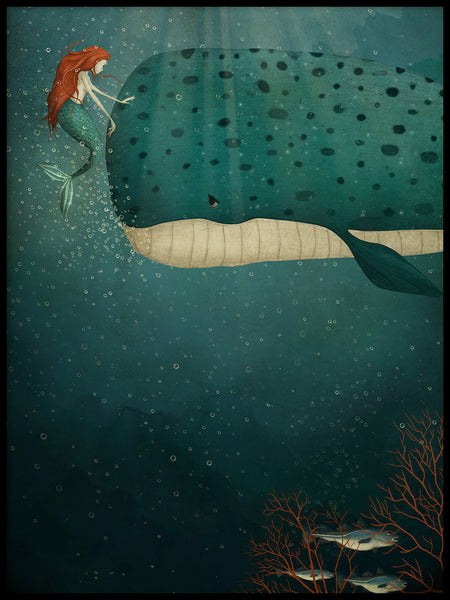 Poster: Under the sea, by Majali Design & Illustration