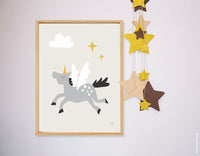 Poster: Unicorn, by Discontinued products