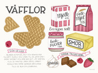 Poster: Waffles, by Tovelisa