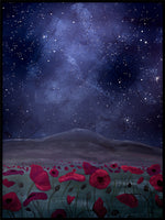 Poster: The poppyfield, by EMELIEmaria