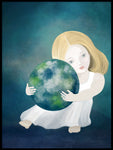 Poster: Our planet, by Lindblom of Sweden