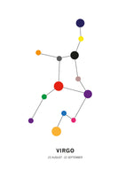 Poster: Virgo, by Paperago