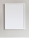 Poster: Frame, white, by Discontinued products