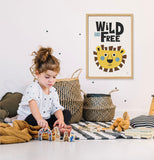 Poster: Wild and free, by Discontinued products