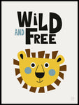 Poster: Wild and free, by KAI Copenhagen