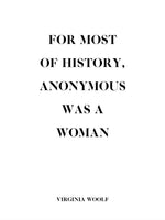 Poster: Woolf, Anonymous, by Discontinued products