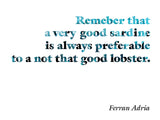Poster: Words by Ferran Adria, by The Wall Cookbook