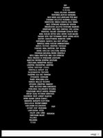 Poster: Sweden, black, by Caro-lines