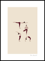Poster: Yoginis 2, by Miss Papperista