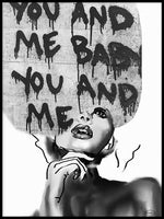 Poster: You and me baby, by Nancy Helena Berggren