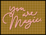 Poster: You are magic, by Fia Lotta Jansson Design