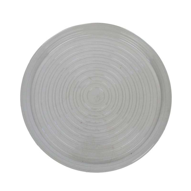"16"" Clear Plastic Saucer"