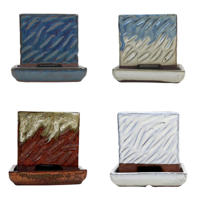 "3"" Rugged Square Combo - All Colors (4 total pots)"