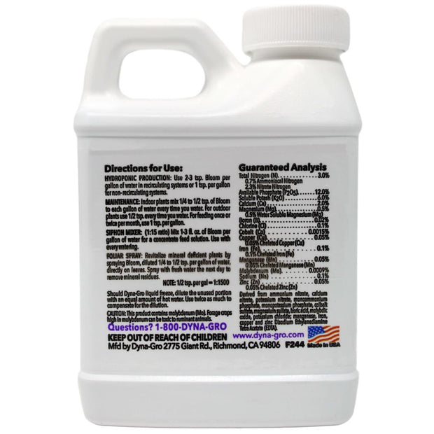 Dyna-Gro Liquid Bloom - 8 oz (Half Pint)