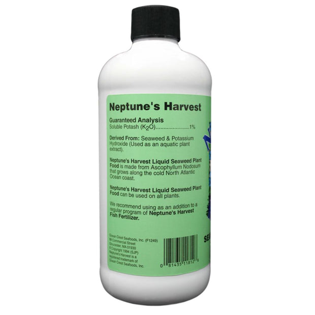 Neptunes Harvest Liquid Concentrate Seaweed - 16 oz (Pint)