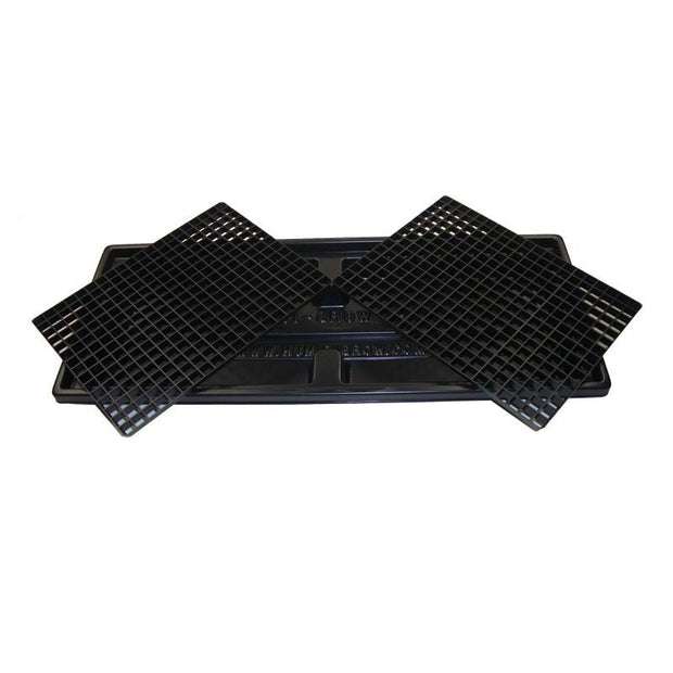 Twin Grate Humidi-Grow Humidity Tray