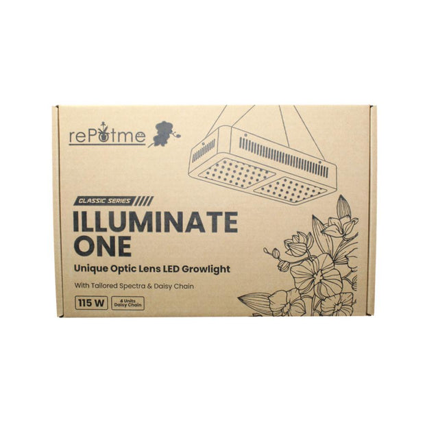 Illuminate One - 115W Full Spectrum LED Grow Light Kit