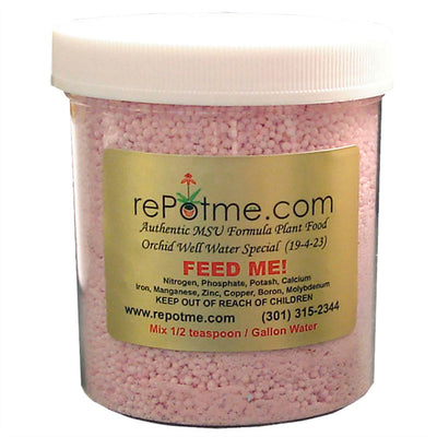 FEED ME! MSU Orchid Fertilizer - Well Water - Granular 40 oz