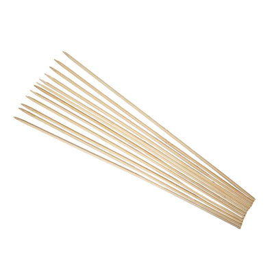 "18"" Natural Thin Bamboo Stakes - One Dozen"