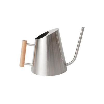 rePotme 1.25 Quart Stainless Steel Watering Can - Royal Silver