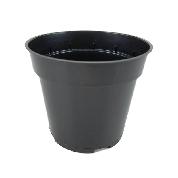 "4"" Rigid Black Orchid Pot"