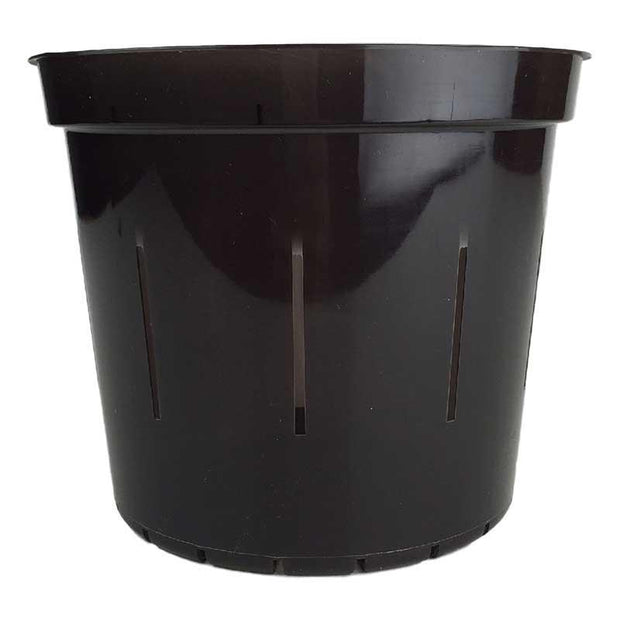 Black Onyx Slotted Violet Pot - Slot-Pots