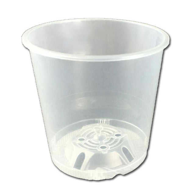 "3.5"" Crystal Clear Orchid Pot"