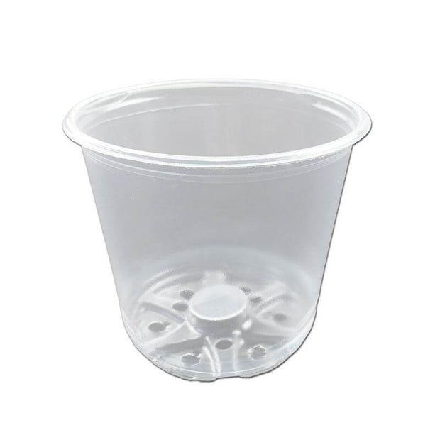 "4"" Crystal Clear Orchid Pot"