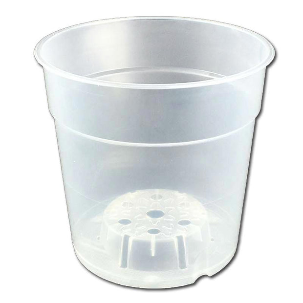 "4.5"" Crystal Clear Orchid Pot"