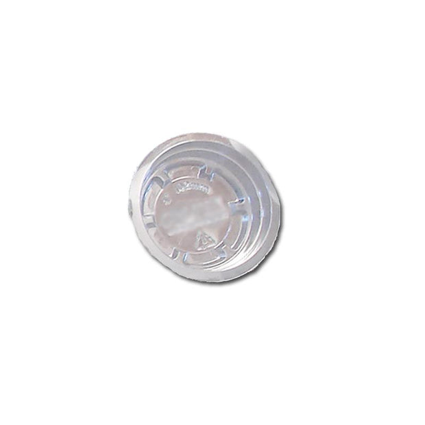 4 Clear Plastic Saucer