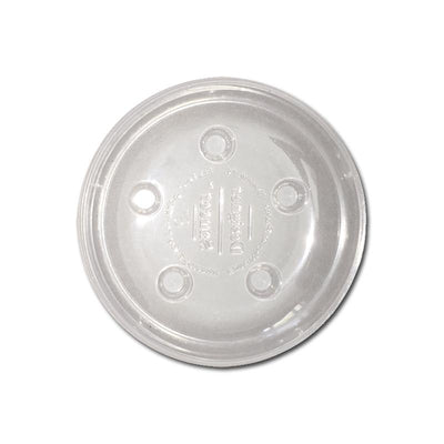 6 Heavy Duty Plastic Saucer - Clear