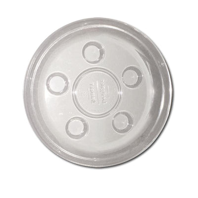 8 Heavy Duty Plastic Saucer - Clear