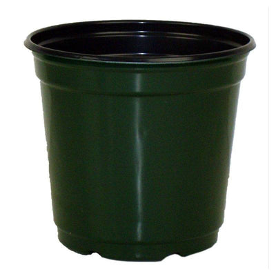 "5"" Taller Gloss Dark Green Flower Pot"