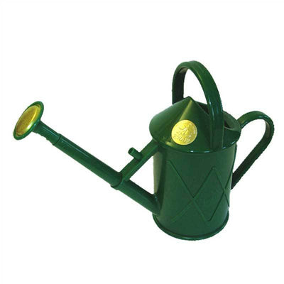 Haws 1 Quart Plastic Watering Can With Rose - Green