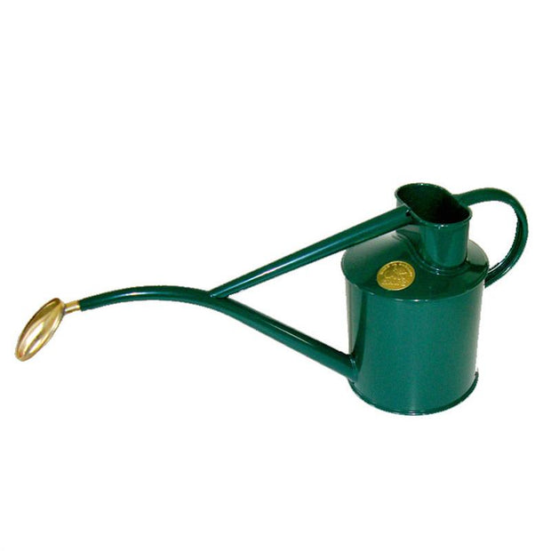 Haws 1 Quart Metal Watering Can With Rose - Green