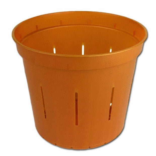 Copper Amber Slotted Violet Pot - Slot-Pots
