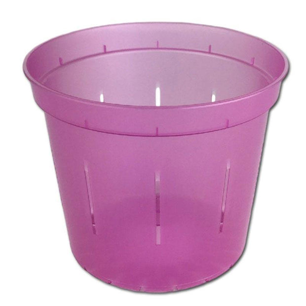 Rose Quartz Slotted Violet Pot - 6 Inch - Slot-Pots