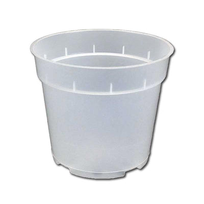 "4"" Rigid Clear Orchid Pot"