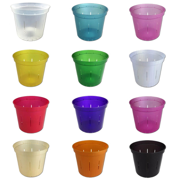 Slotted Pots Rainbow Assortment