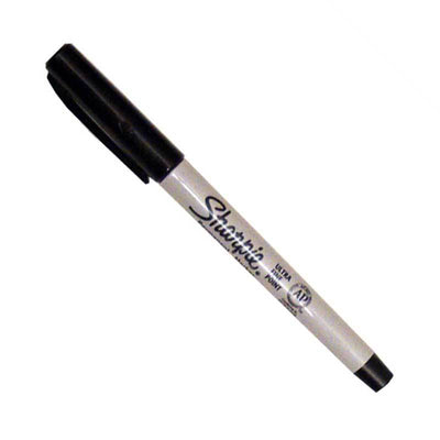 Permanent Ink Fine Point Label Marking Pen - Ultra Fine Point
