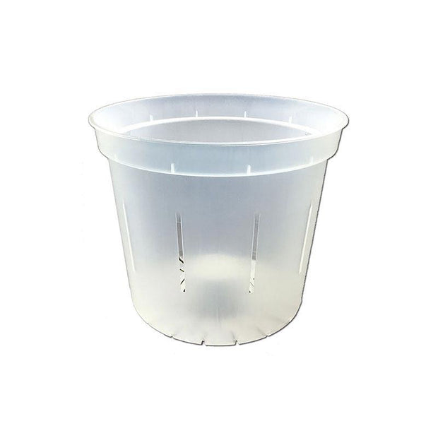 Crystal Clear Slotted Violet Pot - 3 Inch - Slot-Pots