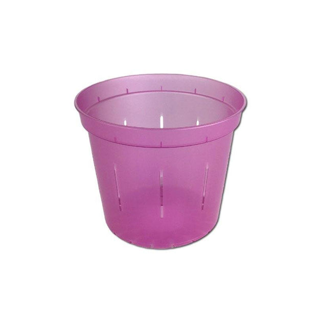 Rose Quartz Slotted Violet Pot - 3 Inch - Slot-Pots